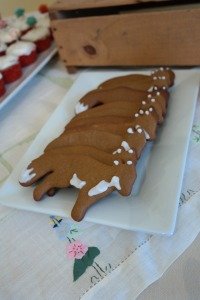 Fox gingerbread cookies