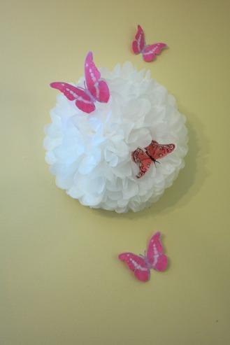 Butterfly birthday decoration