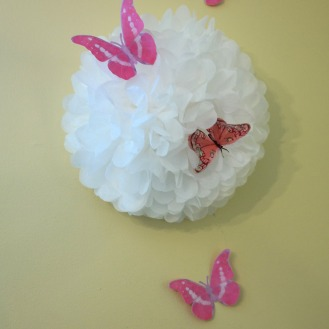 Butterfly birthday decoration
