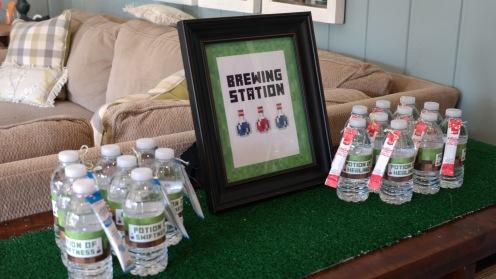Minecraft water station