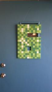 Minecraft door decoration