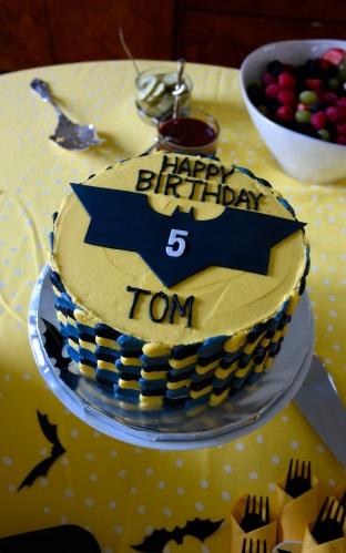 Tom's delicious cake